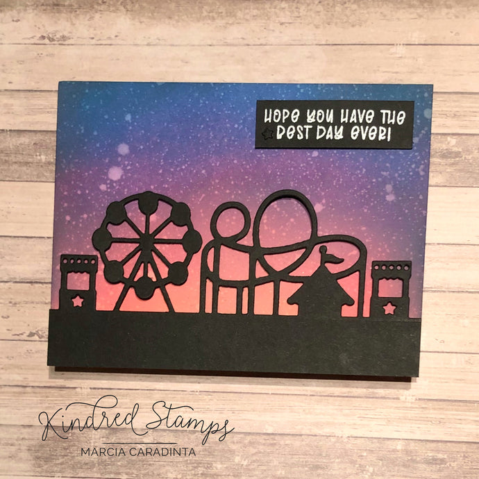 Kindred Stamps: Carnival Scene Craft Die