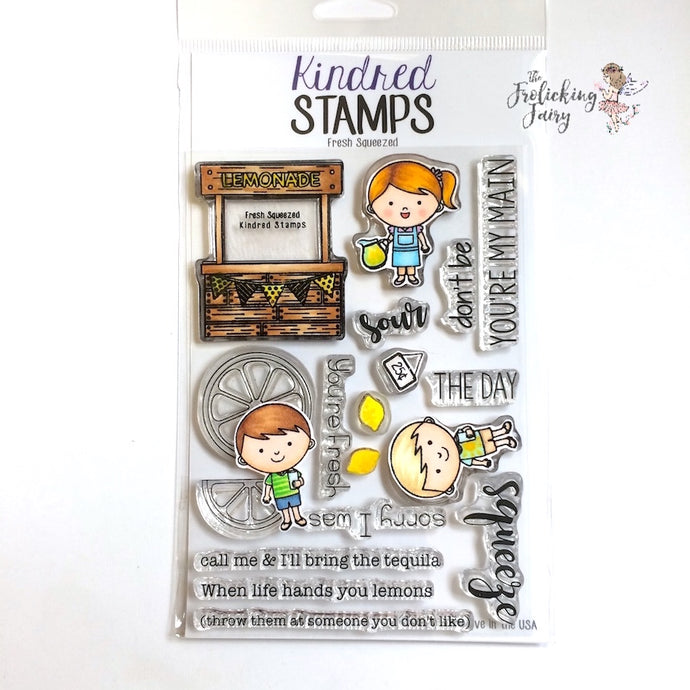 Kindred Stamps Fresh Squeezed