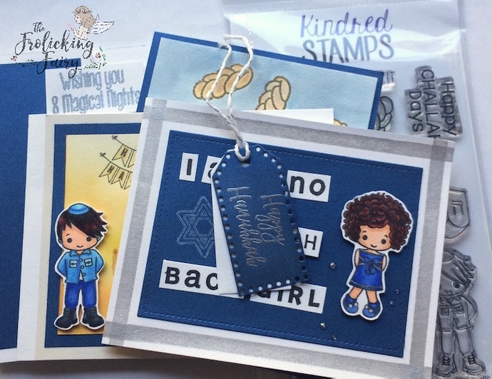 Kindred Stamps Blog Hop - Hanukkah