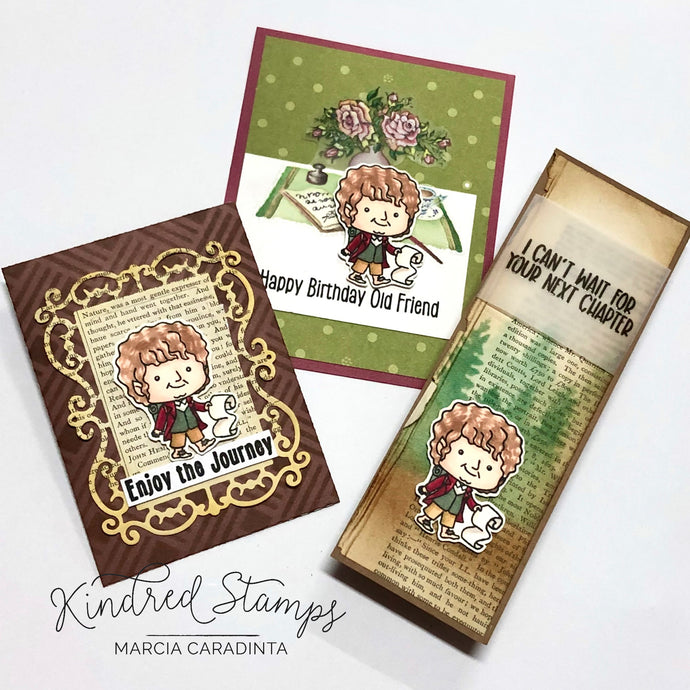 Kindred Stamps Release:  The Journey Prequel