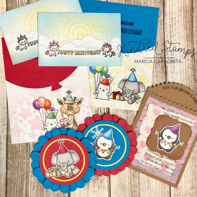 Kindred Stamps: Party Animals