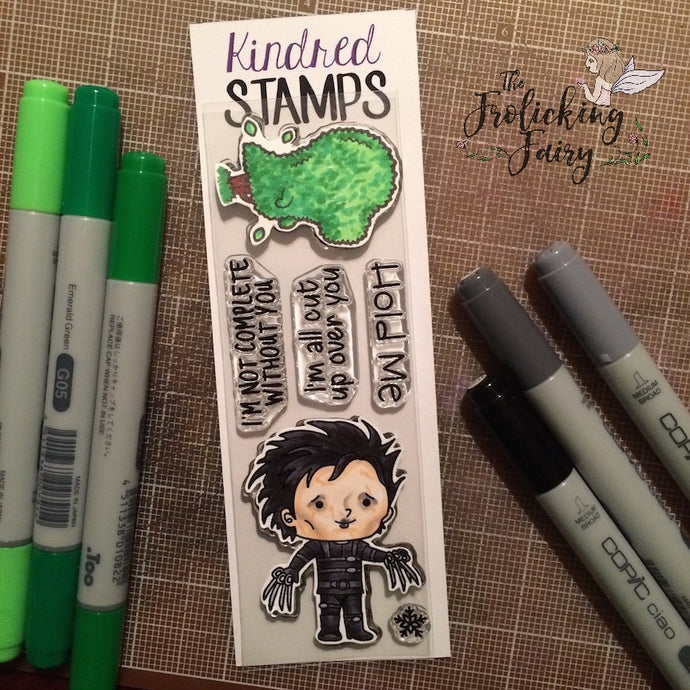 Kindred Stamps December Release - Trim the Hedges