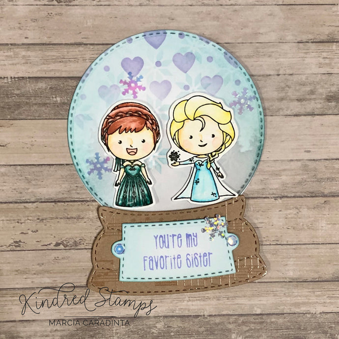 Kindred Stamps: Winter Friends and more