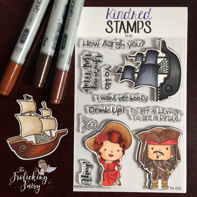 Kindred Stamps February Release - Yo Ho