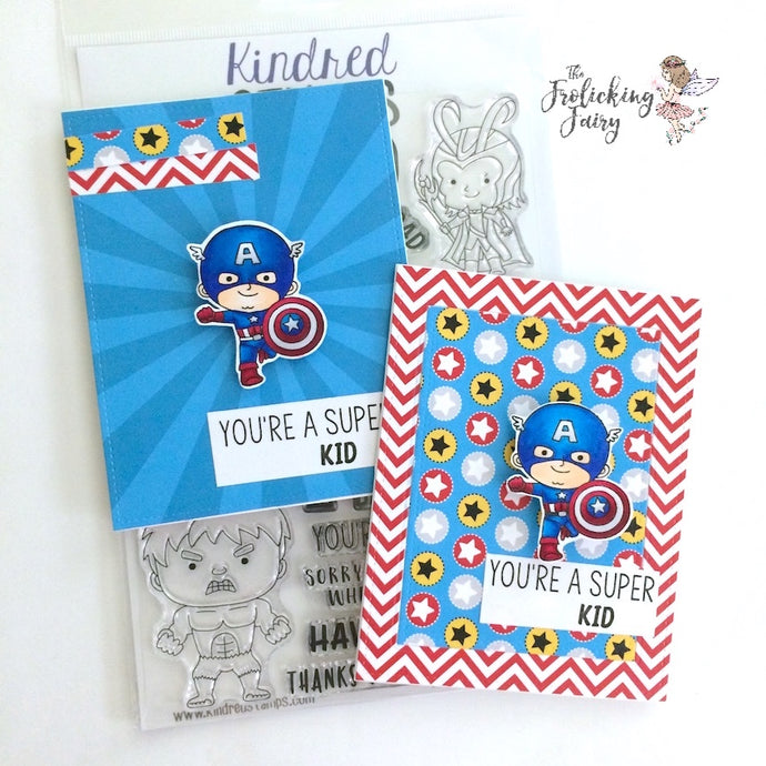 Kindred Stamps Limited Edition You're Super (Kids)