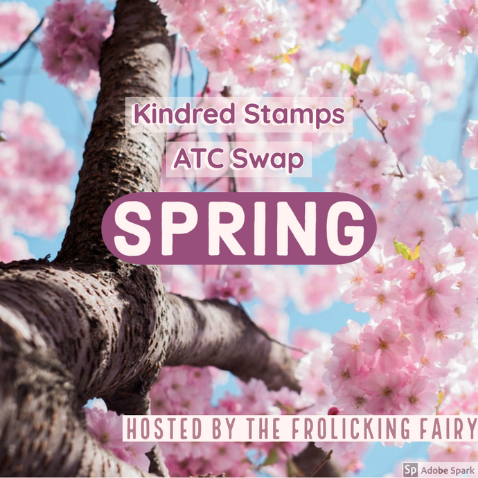 ATC Swap with Kindred Stamps:  Spring