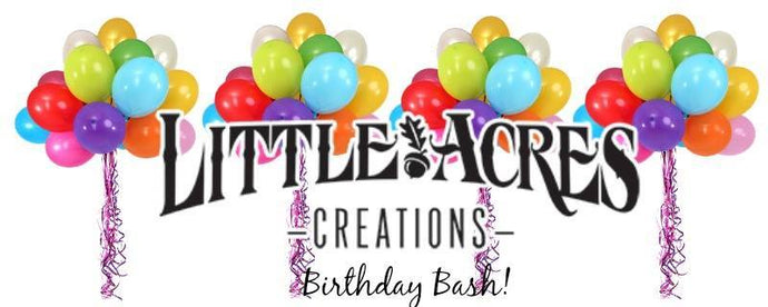 Little Acres Creations 2nd Birthday Celebration
