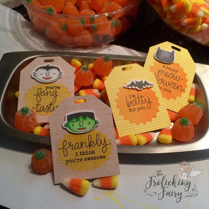 (More) Halloween Tags and Cards