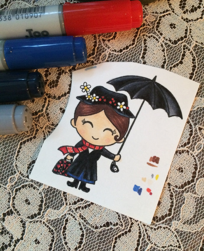 A Little Mary Poppins