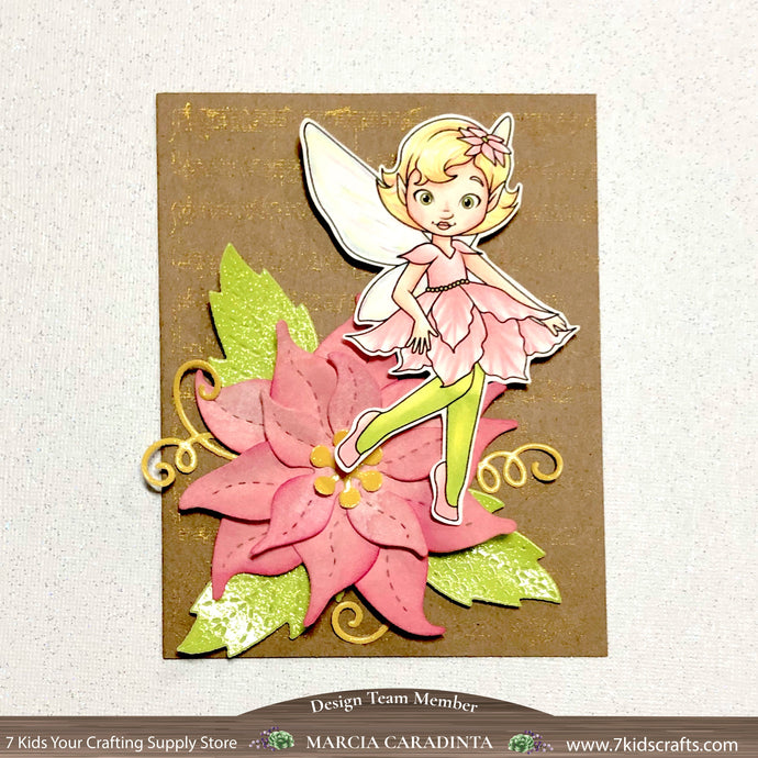 Poinsettia Fairy