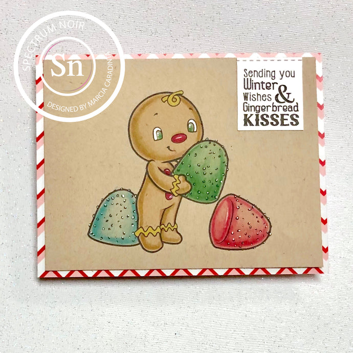 Tutorial Tuesday: Gingerbread Kisses