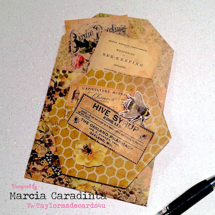 Vintage Garden Passport Kit