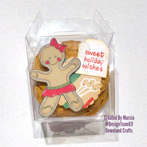 #thefrolickingfairy #downlandcrafts #designteamelf #gingerbreadgirl #gingerbread #festivalofchristmas #cookies #cookiemonster #homemadeholiday #papercraft #kraft #spectrumnoir #alcoholmarkers #bloghop #holidaytreats #holidaycookies