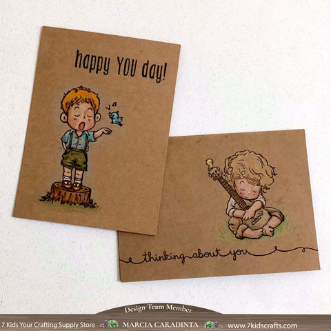 #thefrolickingfairy #7kidscraftingsupplystore #dreamerlandcrafts #cas #cleanandsimple #featuredvendor #sale #coloredpencil #kraft #singing #guitar #playingguitar #thinkingaboutyou #singingloudforalltohear #papercraft #cardmaker #handmade