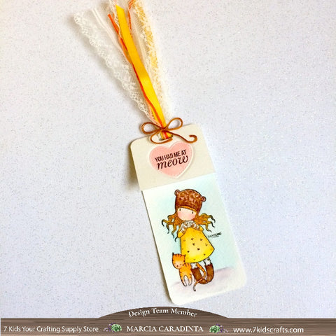 #thefrolickingfairy #lawnfawn #purrbabies #gorjuss #santoro #purrfectlove #youhadmeatmeow #inkroadstamps #inkroadie #purrbaby #bookmark #watercolor #arteza #realbrushpens #7kidscraftingsupplystore #7kidscustomerscreate #cleanandsimple #handmade #papercraft
