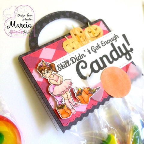 #thefrolickingfairy #heartcraftpaper #cindy #morecandy #halloween #trickortreat #jadedblossom #treattag #pumpkinfamily #digitalpaper #digitalstamp #candy #goodiebag #handmade