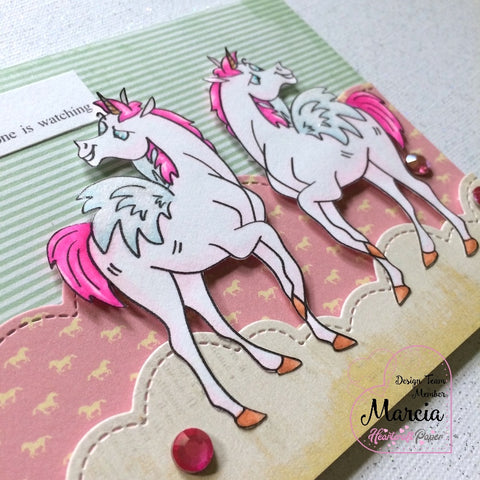 #thefrolickingfairy #heartcraftpaper #unicornpegasus #pegasus #unicorn #digitalstamp #pegasusprance #igotwings #prance #dancelikenooneswatching #copiccoloring #patternedpaper #fantasy #magical #handmadecards