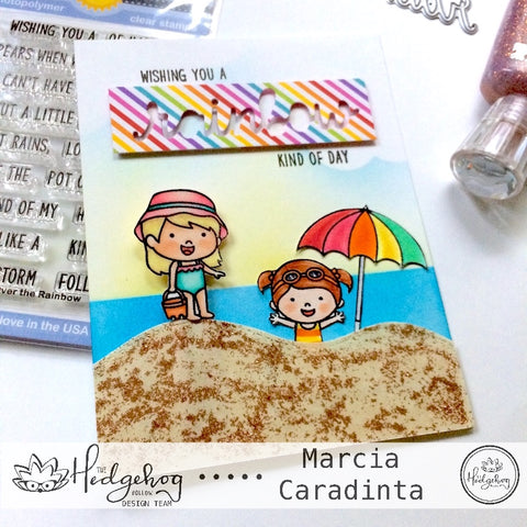 #thefrolickingfairy #thehedgehoghollow #broughttolifebyyou #julykit #subscriptionbox #sunnystudio #coastalcuties #ocean #waves #paperclip #bookmark #xyron #diy #tutorial #copiccoloring #lawnfawn #rainbow #beach #beachday #playinginthesand