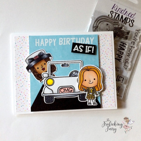 #thefrolickingfairy #kindredstamps #90sgirls #asif #whatever #omg #copiccoloring #plannerclips #jeep #happybirthday #birthdaycard #handmadecards #ilovethe90s