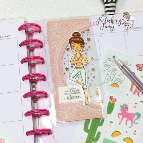 #thefrolickingfairy #littlebluebuttonstamps #lbbstamps #yoga #yogi #treeasana #asana #trianglepose #poseofanelongatedtriangle #om #silence #meditation #sarcasm #stampendous #frogyoga #copiccoloring #planner #plannergirl #planneraddict #plannerdashboard #bookmark #papercraft #digitalstamp #cardmaker #crafter #diy #handmade