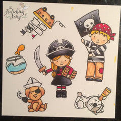 #thefrolickingfairy #neatandtangled #throwdown #partyensemble #challenge #yohoho #ahoy #pirate #pirateparty #diy #diyparty #diybirthday #birthdayparty #copiccoloring