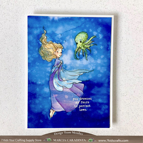 #thefrolickingfairy #7kidscraftingsupplystore #sweetnovember #wraithwillamina #wraith #octopus #underwater #spectrumnoir #triblends #alcoholmarkers #sparkleink #differentperspective #youdrownedmyfears #perfectlove #spooky #halloween #digi #digitalstamp #papercraft #cardmaker #cardmaking