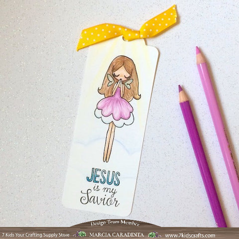 #thefrolickingfairy #7kidscraftingsupplystore #thegreetingfarm #faithcollection #glorytogod #religious #bible #biblejournaling #bibleverse #angel #coloredpencils #lovetocolor #bookmark #jesusismysavior #cas #cleanandsimple #papercraft #stamping #handmade
