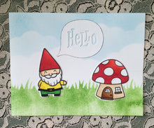 #thefrolickingfairy #fairytalemail #mailforkids #subcription #handmadecards #lawnfawn #gnome #mushroom #distressinks