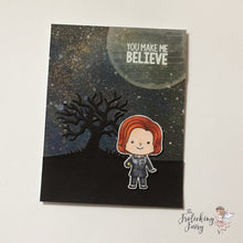 #thefrolickingfairy #kindredstamps #classified #thetruthisoutthere #birthday #galaxy #copiccoloring #agent #fbi
