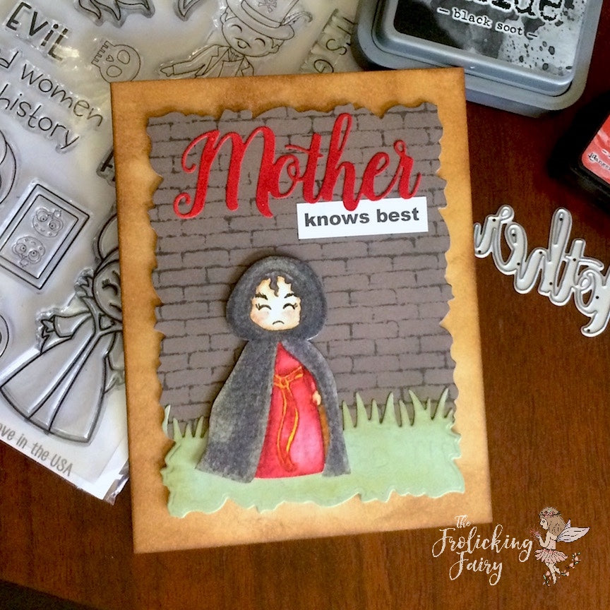 #thefrolickingfairy #kindredstamps #itsgoodtobebad #mother #mothersday #motherknowsbest