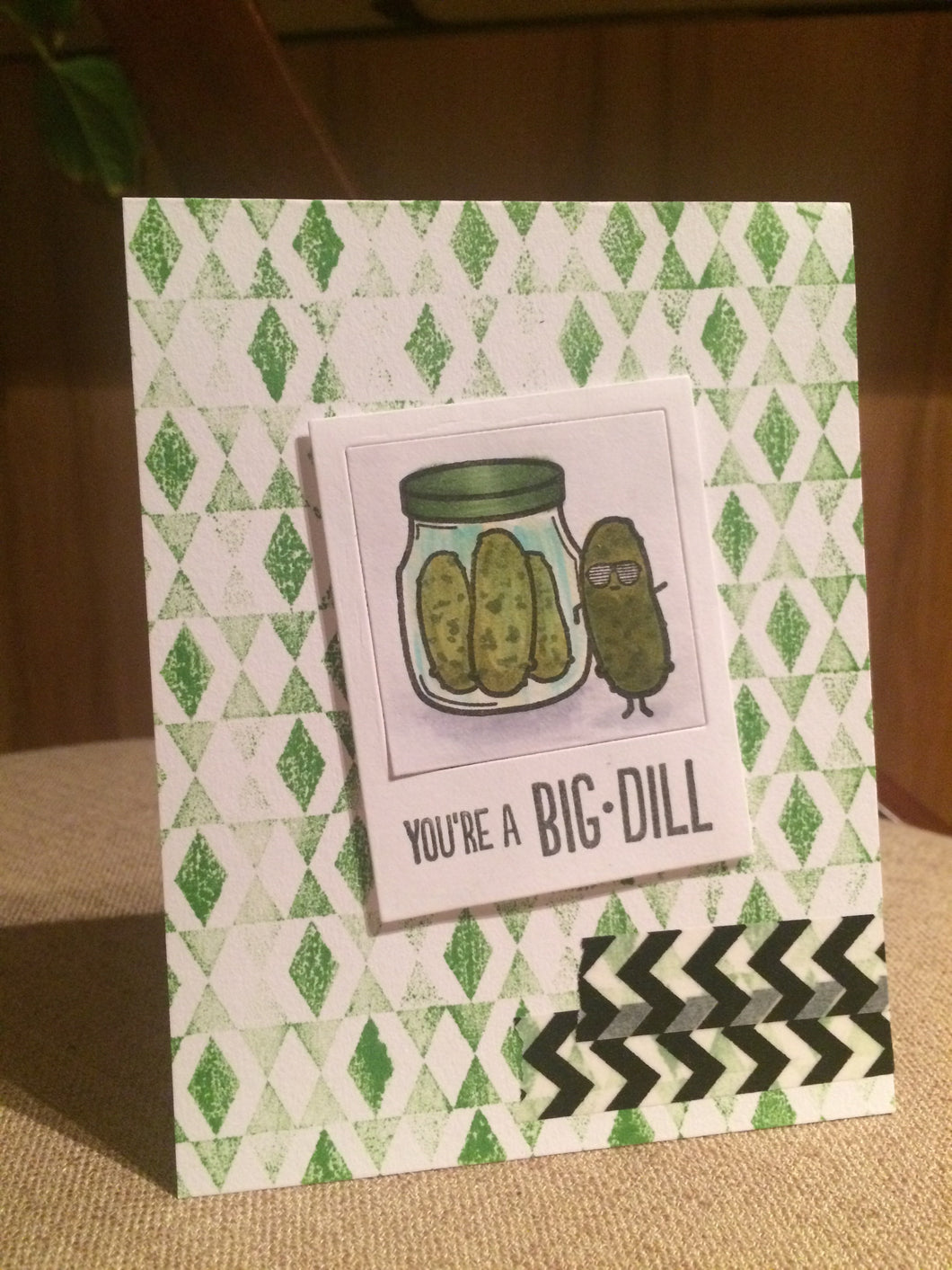 #thefrolickingfairy #sweetstampshop #heroarts #pickle #bigdill #bigdeal #handmadecards