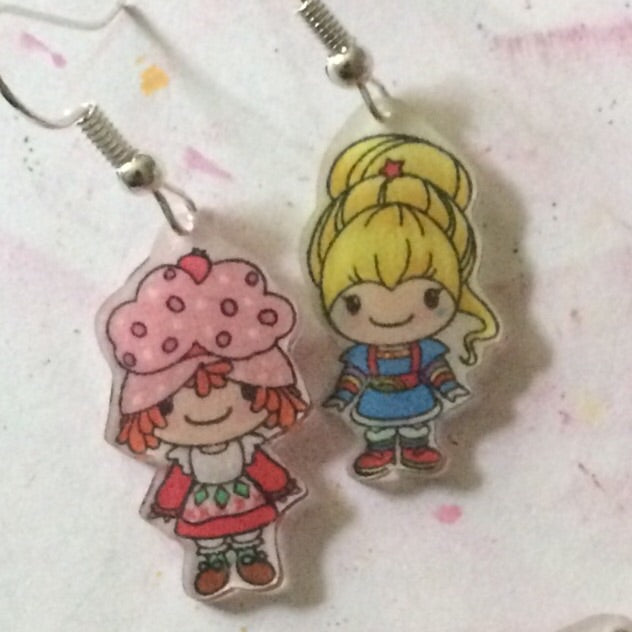 Earrings: 80's Girls