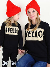 Load image into Gallery viewer, Knitted Pullover Top Babies Toddlers Boys Girls Mothers Sweater