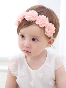 Fashion Flower Headband Head-wear Accessories