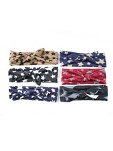 Load image into Gallery viewer, Stars Knotted Headband Knitted Elastic Hairband Set