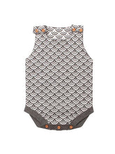 Load image into Gallery viewer, Fish Scales Onesies Knitted Sleeveless Bodysuit