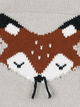 Load image into Gallery viewer, Cute Cartoon Fox Crochet Knitted Cotton Bodysuit