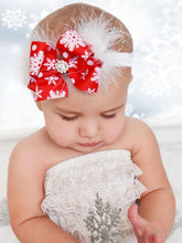 Load image into Gallery viewer, Baby Toddler Christmas Headband Xmas Party Hair Ornaments