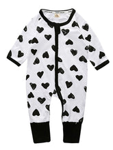 Load image into Gallery viewer, Spring Stylish Baby Boys Girl Printed Zip Sleepsuit Wholesale Overall