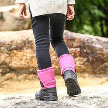 Load image into Gallery viewer, Stylish Big Boy Girl Color-blocking Outdoor Non-slip Snow Boots