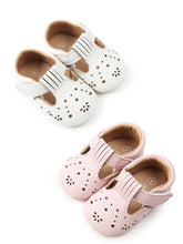 Load image into Gallery viewer, Trendy Infant Girl Walking Shoes Velcro Non-Slip Crib Shoes