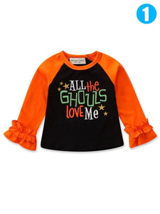ALL THE GHOULS LOVE ME Halloween Pullover T-shirt