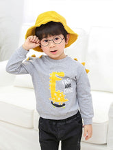 Load image into Gallery viewer, Toddler Baby Cool Fast and Dino Dinosaur Printed Pullover 3 Colors