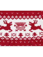 Load image into Gallery viewer, Baby Toddler Girl Christmas Reindeer Crochet Dress