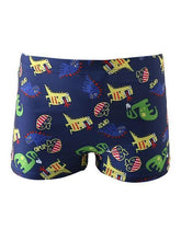 Load image into Gallery viewer, Baby Toddler Boys Dinosaur Swimming Trunks