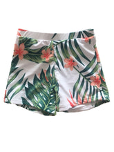 Load image into Gallery viewer, Dad & Son Plant Print Swimming Trunks Family Matching