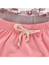 Load image into Gallery viewer, 2-piece Baby Girls Set Sleeveless Dress+Pink Cording Panties