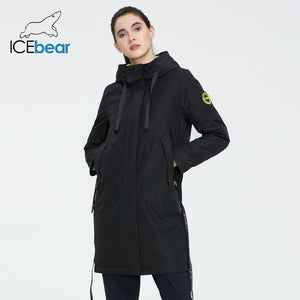 ICEbear 2020 Women spring jacket women coat with a hood casual wear quality coats brand clothing GWC20035I