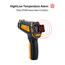 Load image into Gallery viewer, Digital Non Contact Infrared Thermometer IR Aquarium Color LCD Display Laser Gun Pyrometer High Accuracy Temperature Tester