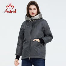 Load image into Gallery viewer, Astrid 2020 new arrival Spring Young fashion Short women coat high quality female Outwear Casual Jacket Hooded Thin coat ZM-9343